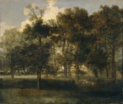 Woodland Scene with Sheep | John Crome | Oil Painting