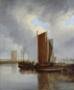 The Steam Packet | John Crome | Oil Painting