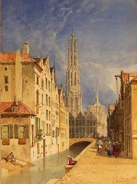 Antwerp | John Sell Cotman | Oil Painting