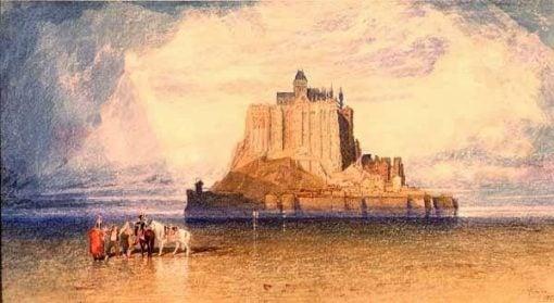 Mont St Michel | John Sell Cotman | Oil Painting
