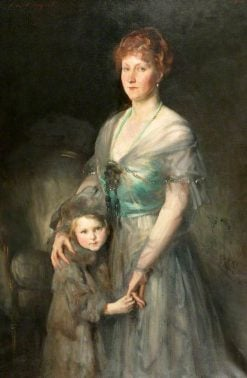 Mrs Duxbury and Daughter | John Singer Sargent | Oil Painting