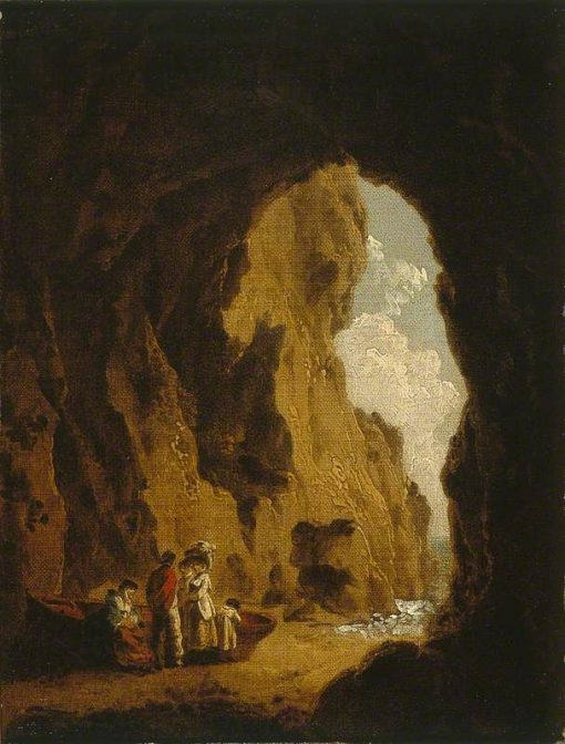 Cave in St Catherine's Rock