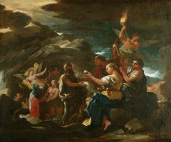 The Cave of Eternity | Luca Giordano | Oil Painting