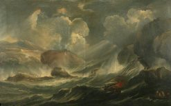 A Storm at Sea | Marco Ricci | Oil Painting