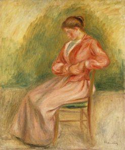 Seated Woman | Pierre Auguste Renoir | Oil Painting