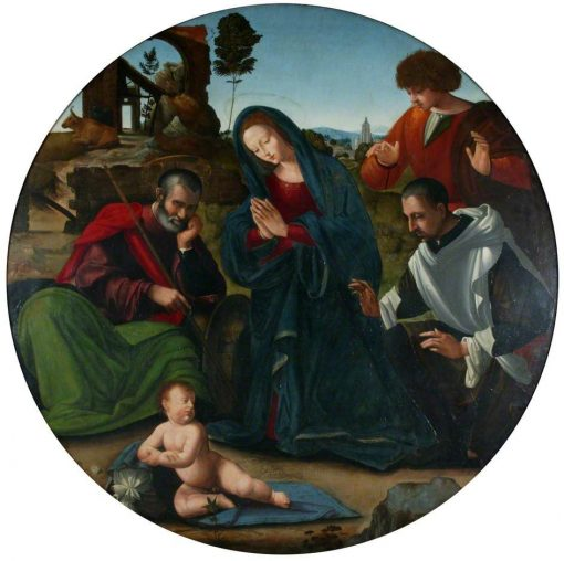 Adoration of the Shepherds | Ridolfo Ghirlandaio | Oil Painting