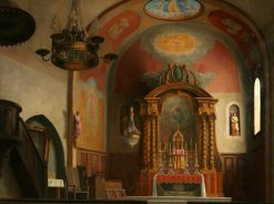 The Church at Ramatuelle | Roger Eliot Fry | Oil Painting