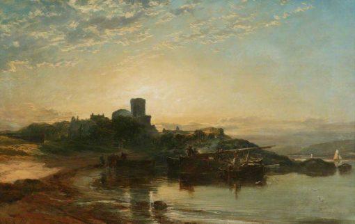 A Castle | Samuel Bough | Oil Painting