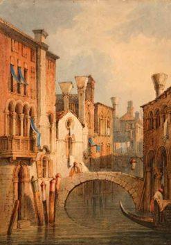 Venice | Samuel Prout | Oil Painting