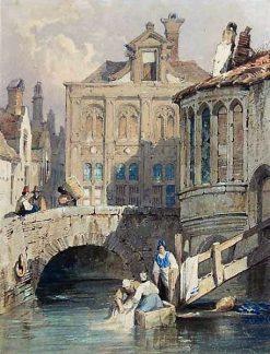 Bruges | Samuel Prout | Oil Painting