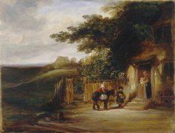 The Cottage Door | William Collins | Oil Painting