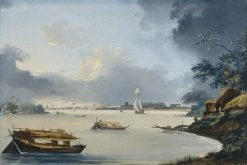 View of Calcutta | William Hodges | Oil Painting