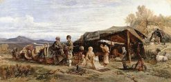 An Encampment in the Desert | William James Muller | Oil Painting