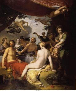 The Wedding of Peleus and Thetis | Abraham Bloemaert | Oil Painting