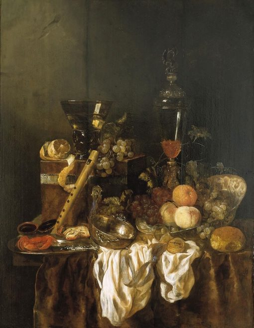 Still Life with Objects and Fruit | Abraham van Beyeren | Oil Painting