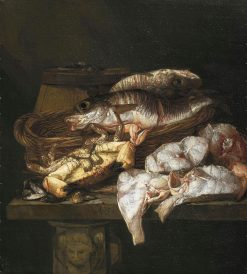 Still Life with Fish | Abraham van Beyeren | Oil Painting