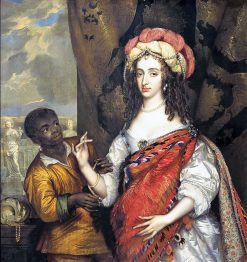 Portrait of Maria Henriette Stuart