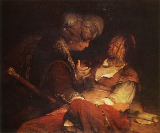 Judah and Tamar | Aert de Gelder | Oil Painting