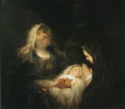 Simeon's Song of Praise | Aert de Gelder | Oil Painting