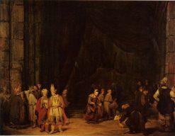 The Temple Entrance | Aert de Gelder | Oil Painting