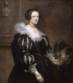 Portrait of Anna Wake (1605-1669) | Anthony van Dyck | Oil Painting