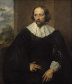 Portrait of the Painter Quintijn Simons (born 1592) | Anthony van Dyck | Oil Painting
