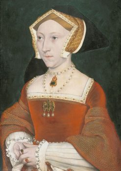 Portrait of Jane Seymour (c1509-1537) | British School th Century   Unknown | Oil Painting