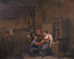 Boerenherberg | Cornelis Pietersz Bega | Oil Painting