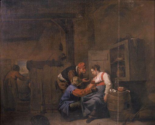 Boerenherberg   Cornelis Pietersz Bega   Oil Painting