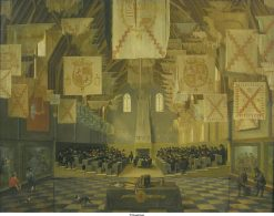 The Reception for the State-General in the Ridderzaal in 1651 | Dirck van Delen | Oil Painting