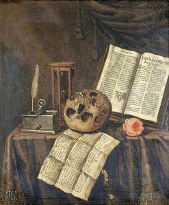 Vanitas Still Life | Edwaert Collier | Oil Painting