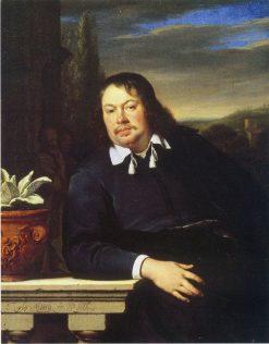 Portrait of Florentius Schuyl | Frans van Mieris the Elder | Oil Painting