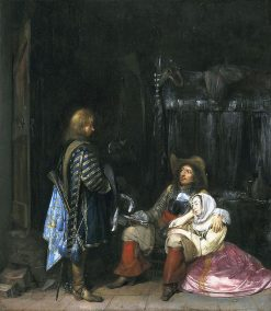 The Messenger(also known as Unwelcome News) | Gerard ter Borch | Oil Painting