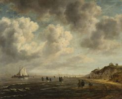 Beach View | Jacob van Ruisdael | Oil Painting
