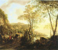 Italian Landscape   Jan Both   Oil Painting