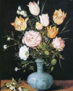 Vase of Flowers | Jan Brueghel the Elder | Oil Painting
