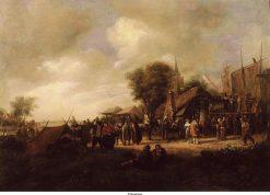The Kermis   Jan Havicksz. Steen   Oil Painting