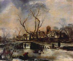 Winter Scene | Jan van de Cappelle | Oil Painting