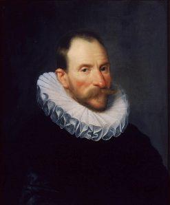 Portrait of Cornelis van Aerssen (1545-1627) | Michiel Jansz. van Mierevelt | Oil Painting