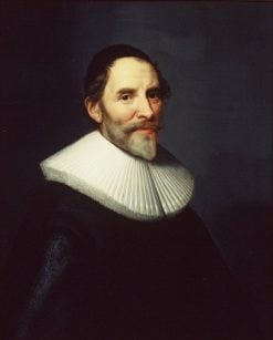 Portrait of Francois van Aerssen (1572-1641) | Michiel Jansz. van Mierevelt | Oil Painting