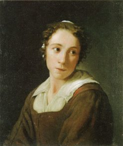 Portrait of a Young Woman | Michiel Sweerts | Oil Painting
