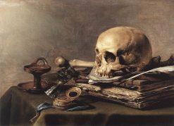Vanitas Still Life | Pieter Claesz | Oil Painting