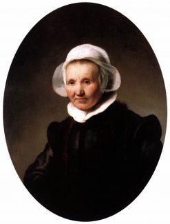 Portrait of Aeltje Petersdr. Uylenburgh | Rembrandt van Rijn | Oil Painting
