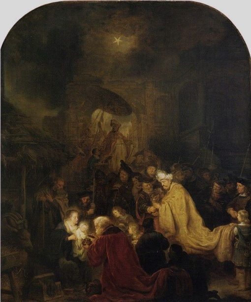 Adoration of the Kings | Salomon Koninck | Oil Painting