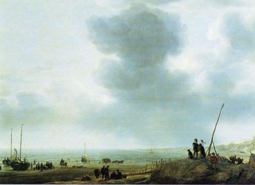Beach View | Simon de Vlieger | Oil Painting
