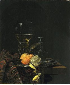 Still Life with Goblet and Fruit | Willem Kalf | Oil Painting