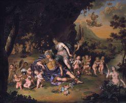 Rinaldo and Armida | Willem van Mieris | Oil Painting