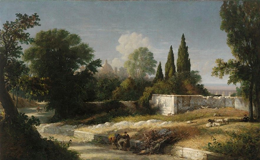 August Morning (near Rome