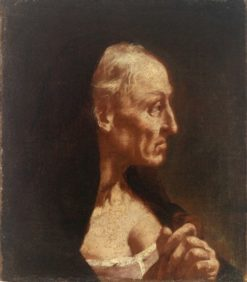 Portrait of an Old Woman | Giovanni Battista Piazzetta | Oil Painting