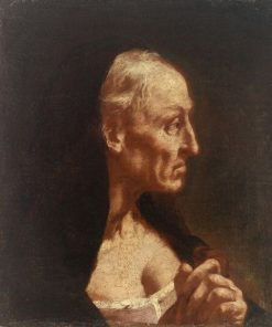 Portrait of an Old Woman | Giovanni Battista Piazzetta | Oil Painting